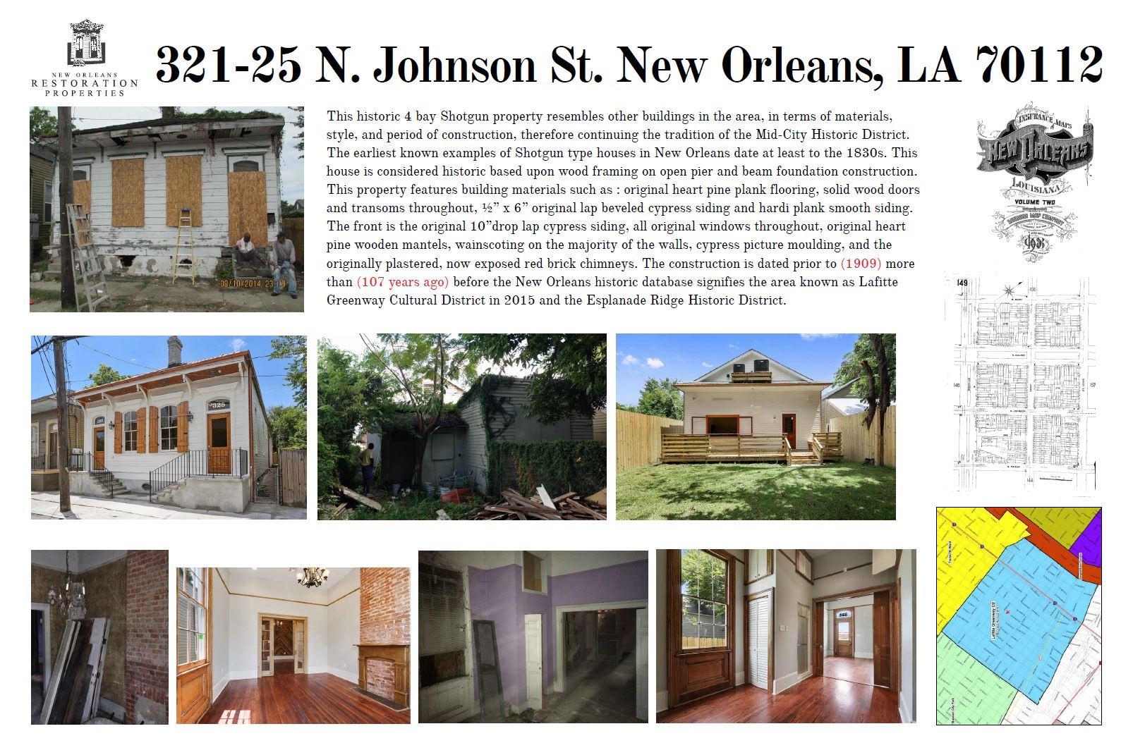 321 N Johnson St Property Restoration